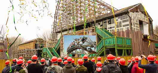 Wooden roller coaster Robin Hood is being rebuilt into the spectacular hybrid coaster Untamed